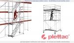 фасадні риштовання plettac SL