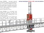 мачтовая рабочая платформа sc3500 / mast work platform sc3500