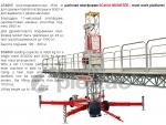 мачтовая рабочая платформа sc8000 / mast work platform sc8000