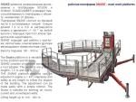 мачтовая платформа snake / mast work platform snake
