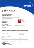сертификат TUV на леса строительные plettac assco
