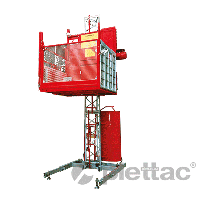 HOIST FOR PASSENGERS AND MATERIALS MTP600